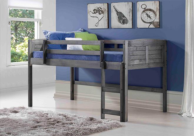 Размеры кровати-чердака